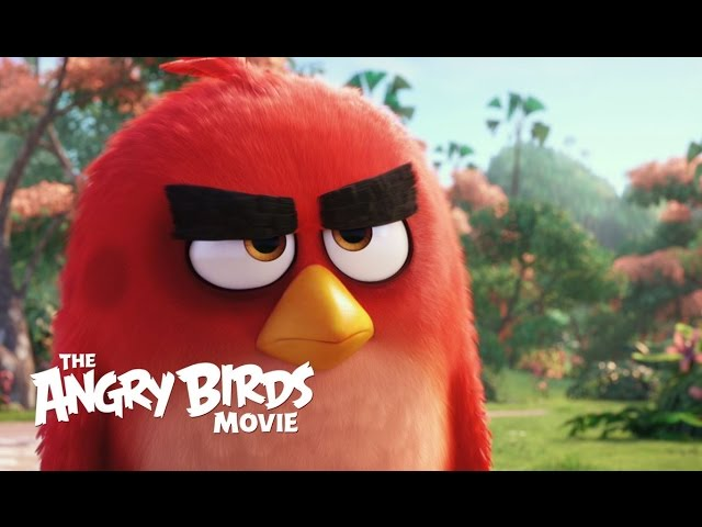 Angry Birds Movie Trailer Introduces All Our Favorite Birds